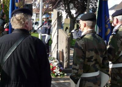 Monument en l'honneur des combattants du 6ème et 23ème RIC