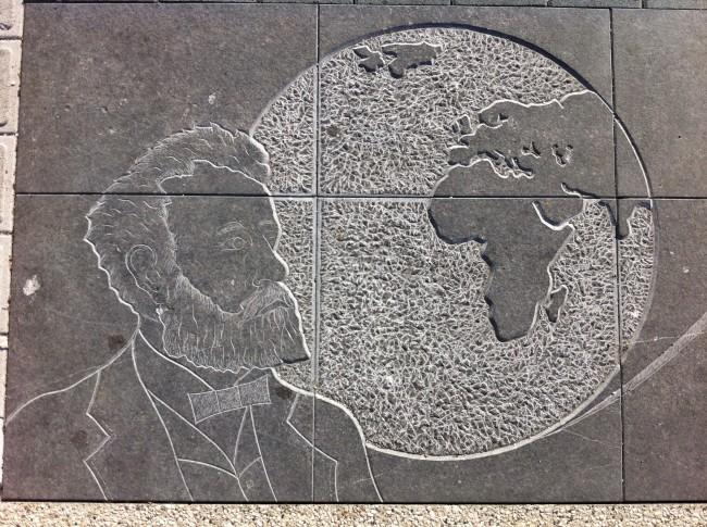 Monumentale Fresque Jules Verne