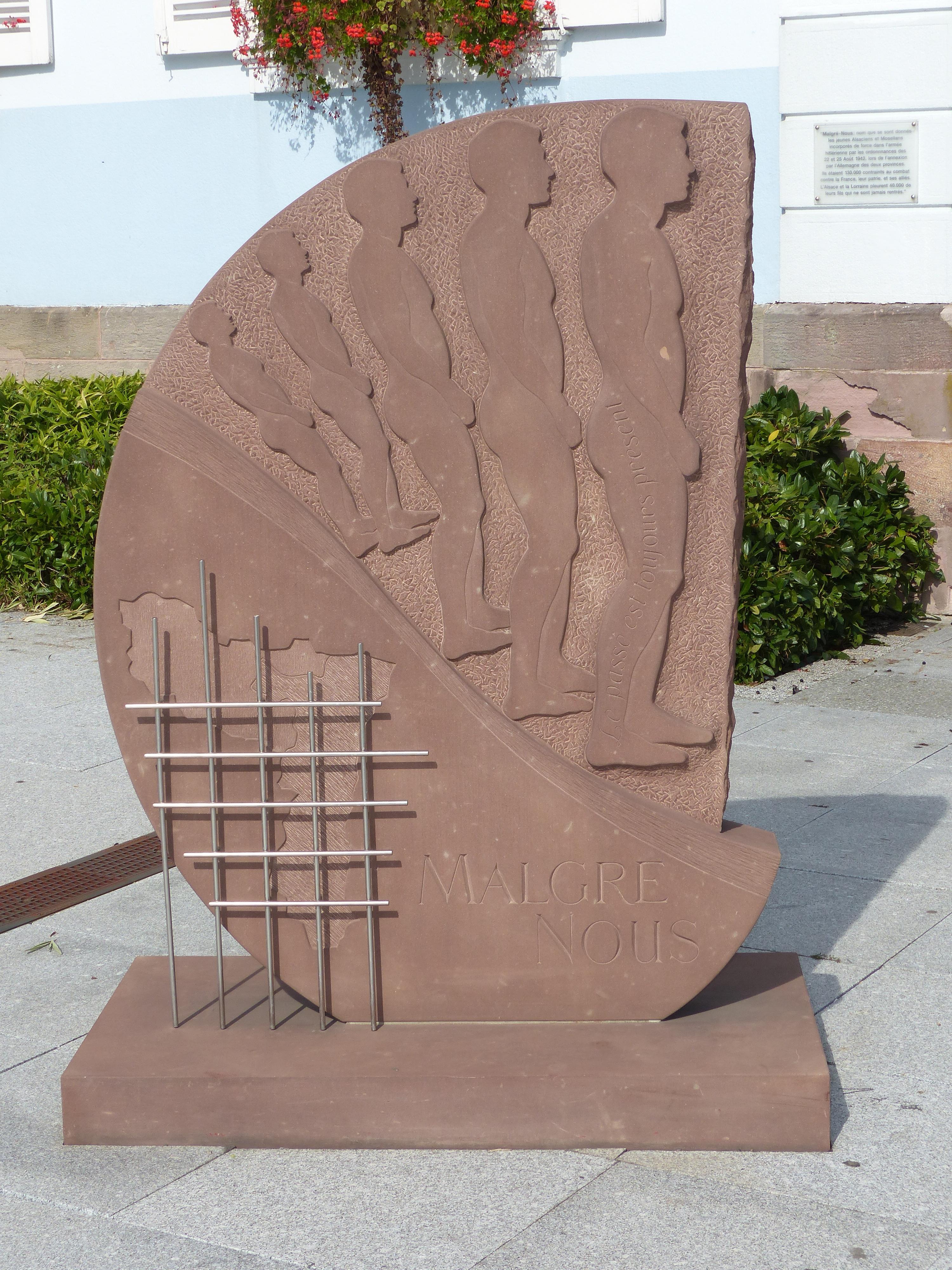 Monument Malgré Nous