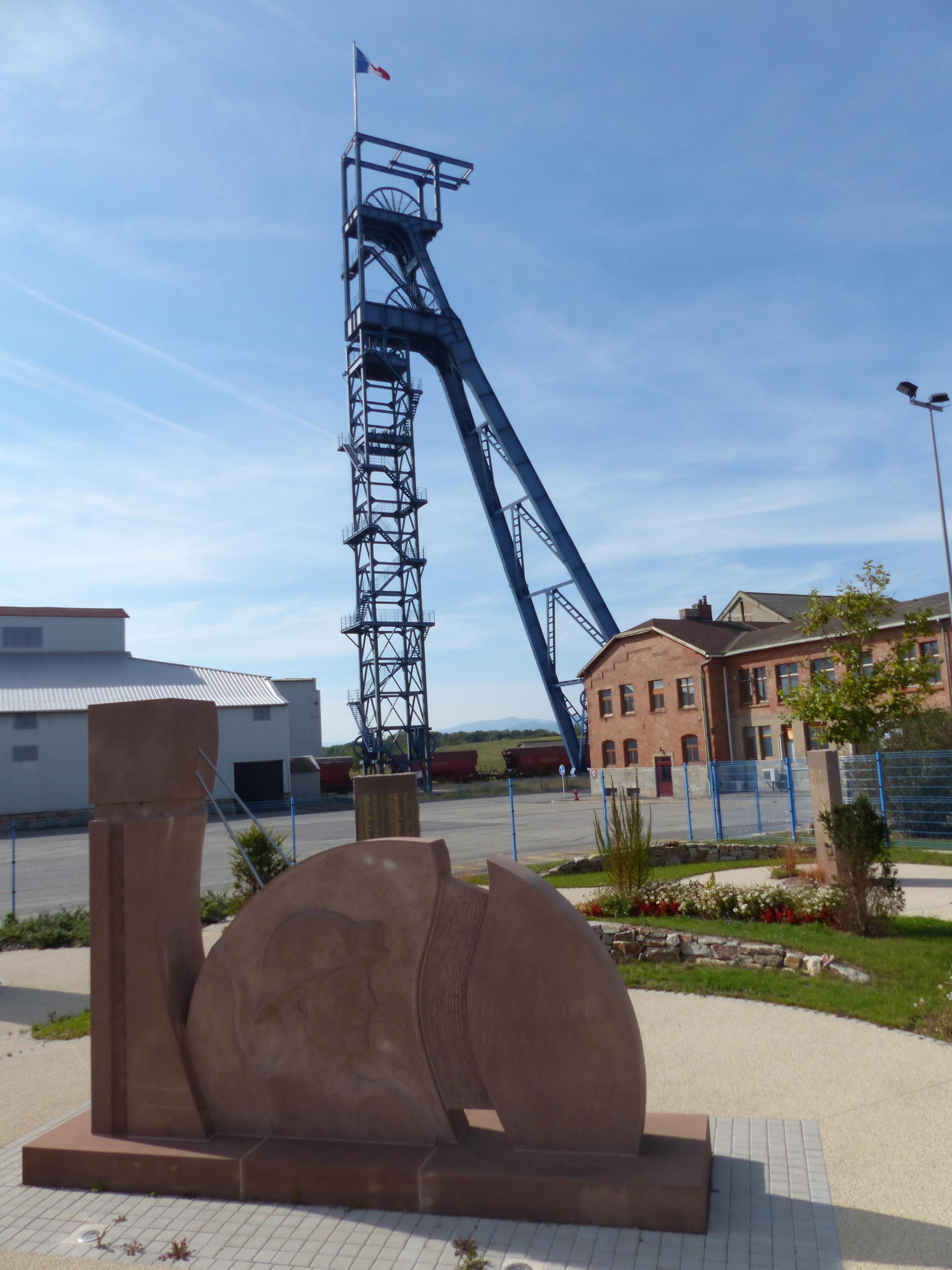 Monumentale Mémorial des Mineurs du Bassin Potassique