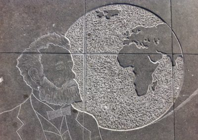Fresque Jules Vernes