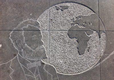 Fresque Jules Verne